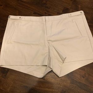 Torrid chino style khaki shorts